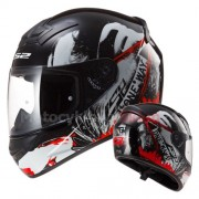 KASK MOTOCYKLOWY LS2 FF352 ROOKIE ONE RED