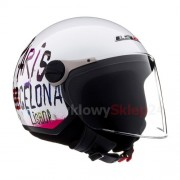 KASK OTWARTY LS2 OF560.25 CITY GLOSS WHITE