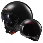 KASK OTWARTY LS2 OF561.1 WAVE GLOSS BLACK