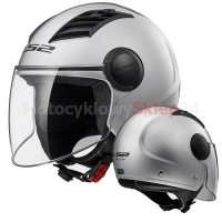 KASK OTWARTY LS2 OF562 AIRFLOW L SOLID SILVER